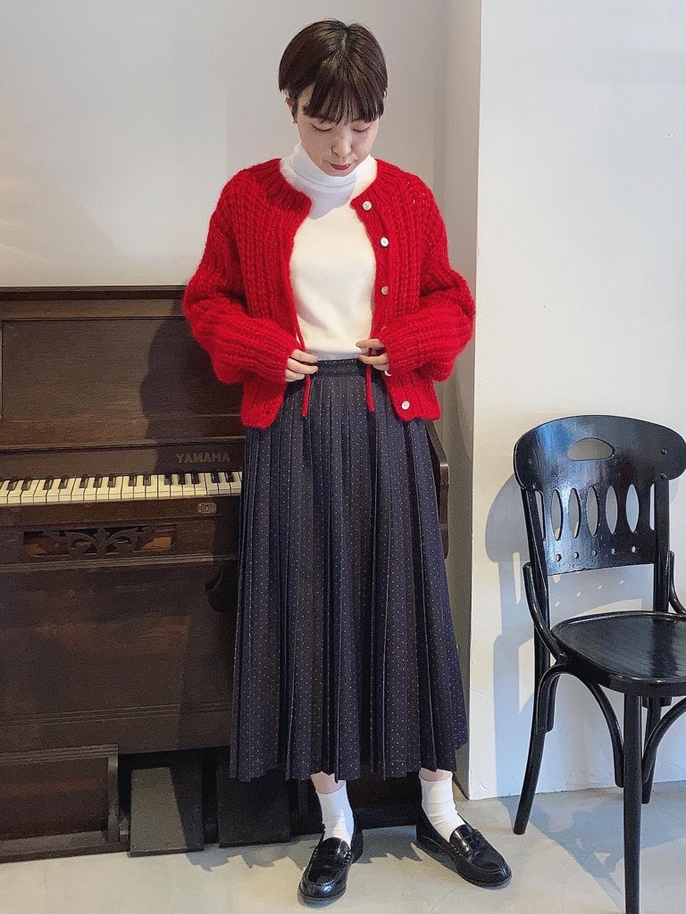 Dot and Stripes CHILD WOMAN 名古屋栄路面 身長:160cm 2020.11.02