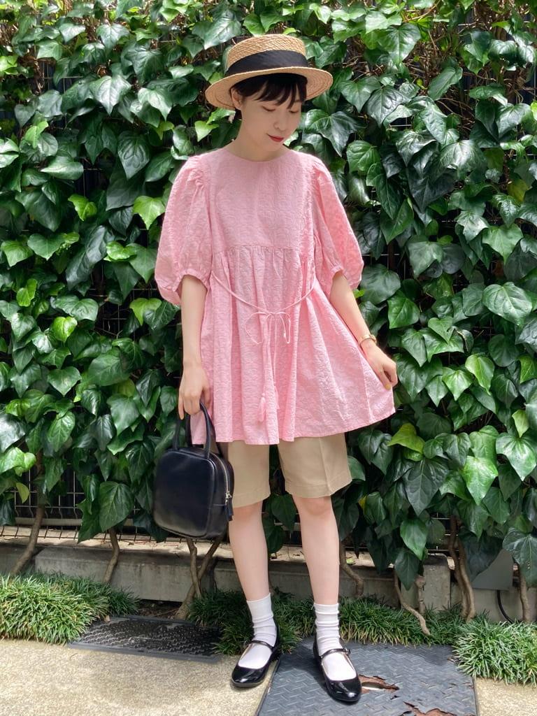 Dot and Stripes CHILD WOMAN 名古屋栄路面 身長:161cm 2021.06.15