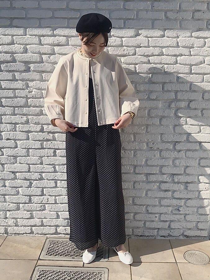Dot and Stripes CHILD WOMAN 名古屋栄路面 身長:160cm 2020.04.16
