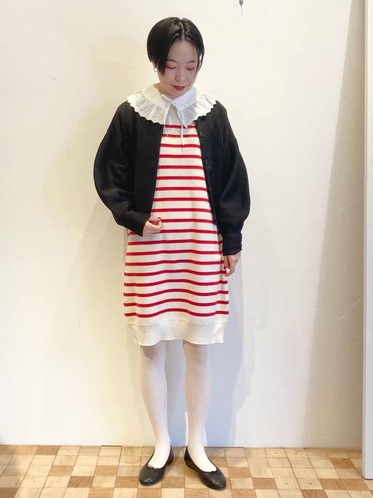 Dot and Stripes CHILD WOMAN 名古屋栄路面 身長:161cm 2021.10.19