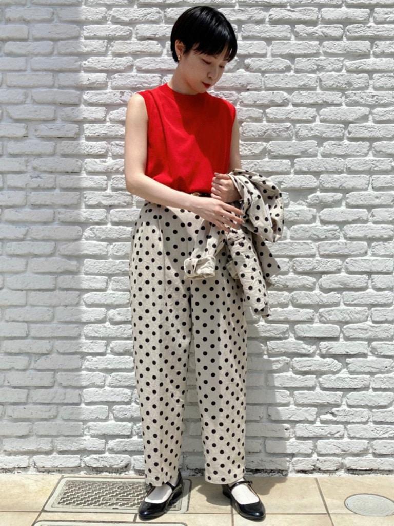 Dot and Stripes CHILD WOMAN 名古屋栄路面 身長:161cm 2021.05.26