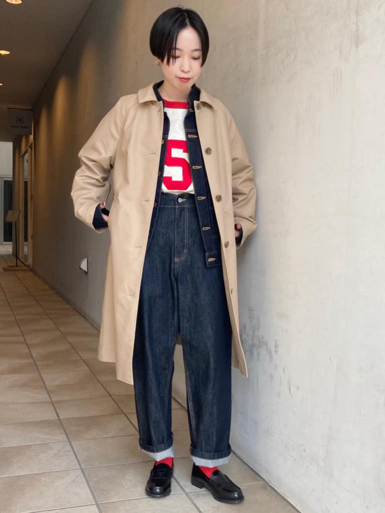 Dot and Stripes CHILD WOMAN 名古屋栄路面 身長:161cm 2021.09.28