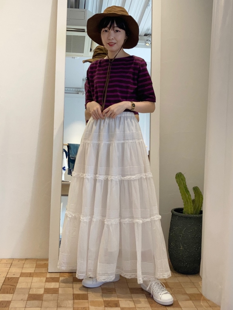 Dot and Stripes CHILD WOMAN 名古屋栄路面 身長:161cm 2021.06.11
