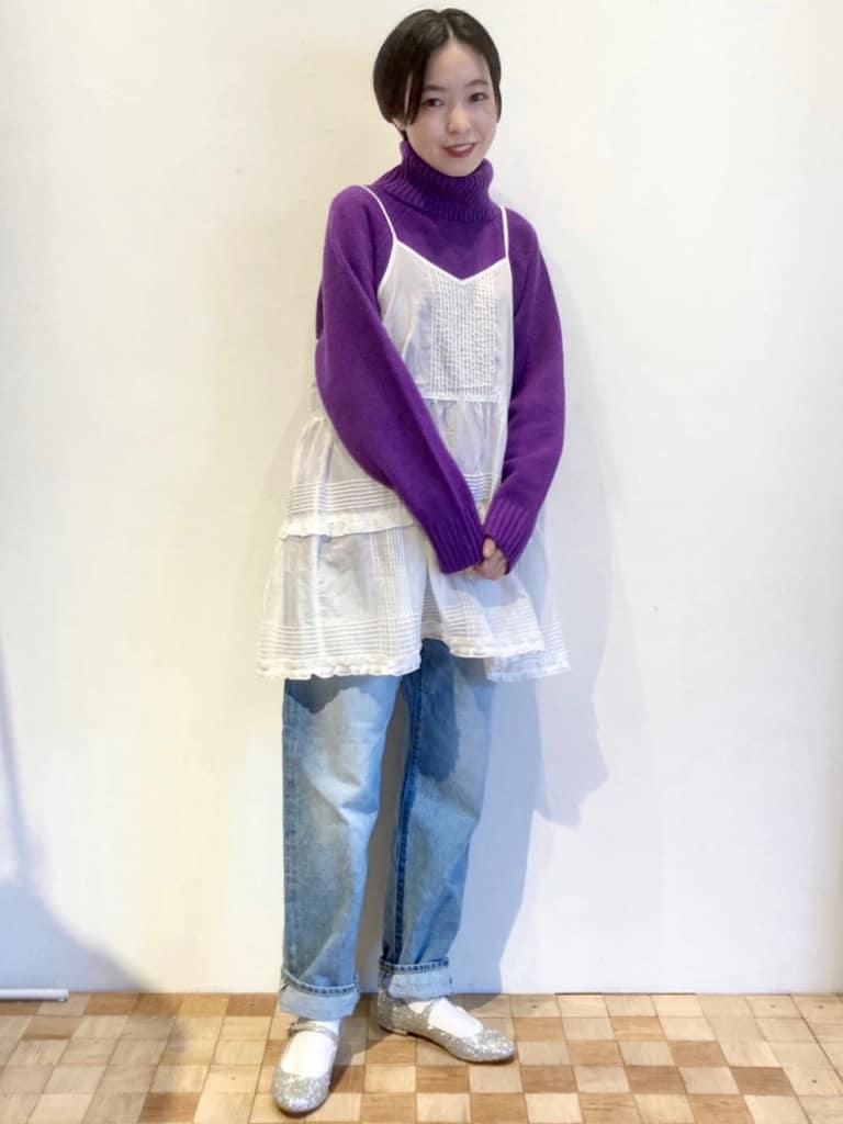 Dot and Stripes CHILD WOMAN 名古屋栄路面 身長:161cm 2021.10.09