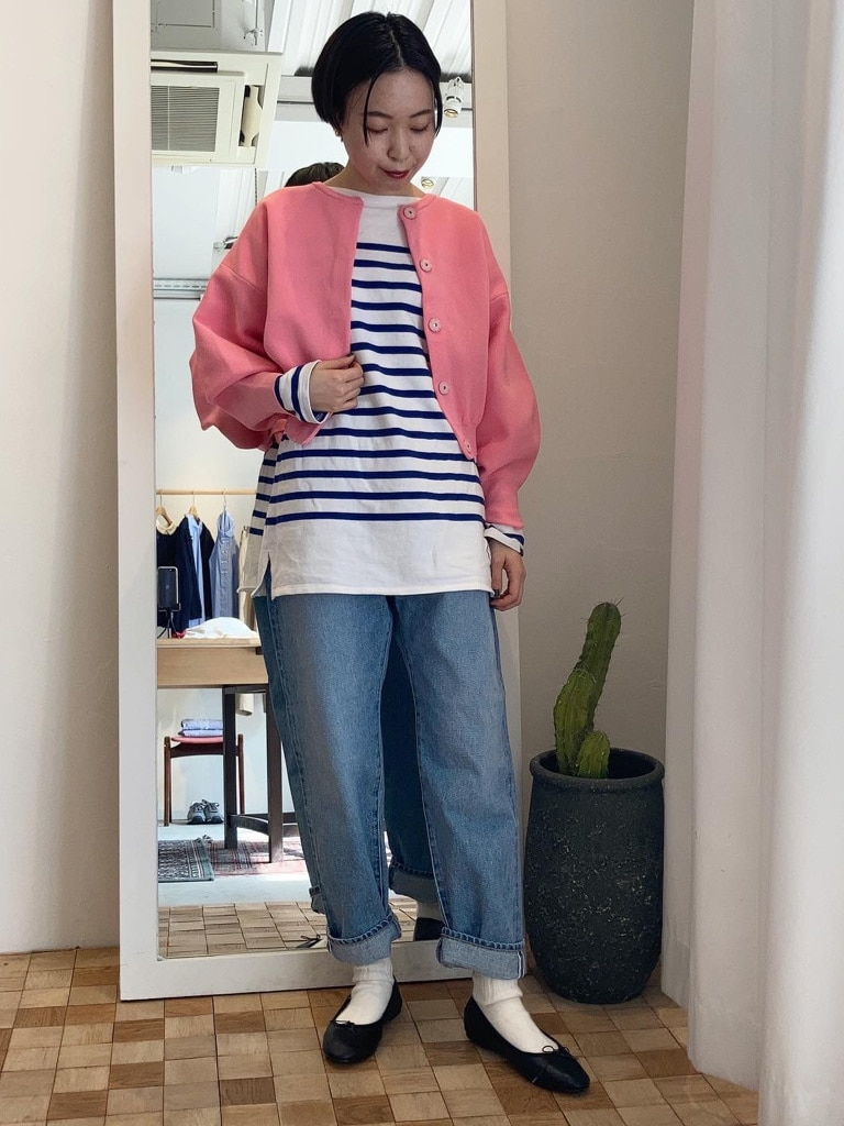 Dot and Stripes CHILD WOMAN 名古屋栄路面 身長:160cm 2021.03.04
