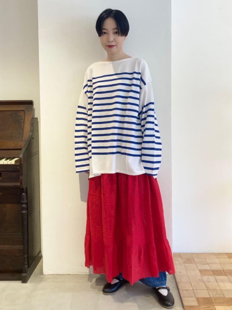 Dot and Stripes CHILD WOMAN 名古屋栄路面 身長:161cm 2021.08.29