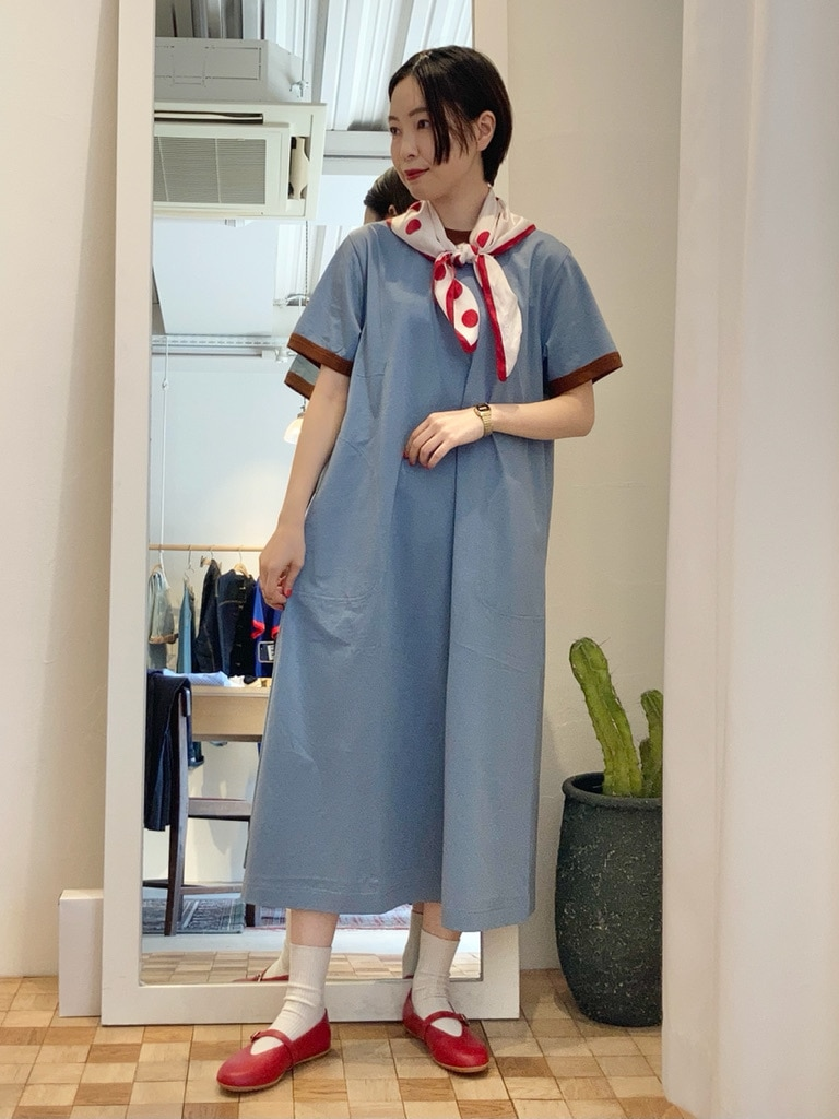 Dot and Stripes CHILD WOMAN 名古屋栄路面 身長:161cm 2021.05.19