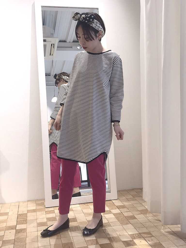 Dot and Stripes CHILD WOMAN 名古屋栄路面 身長:160cm 2020.05.09