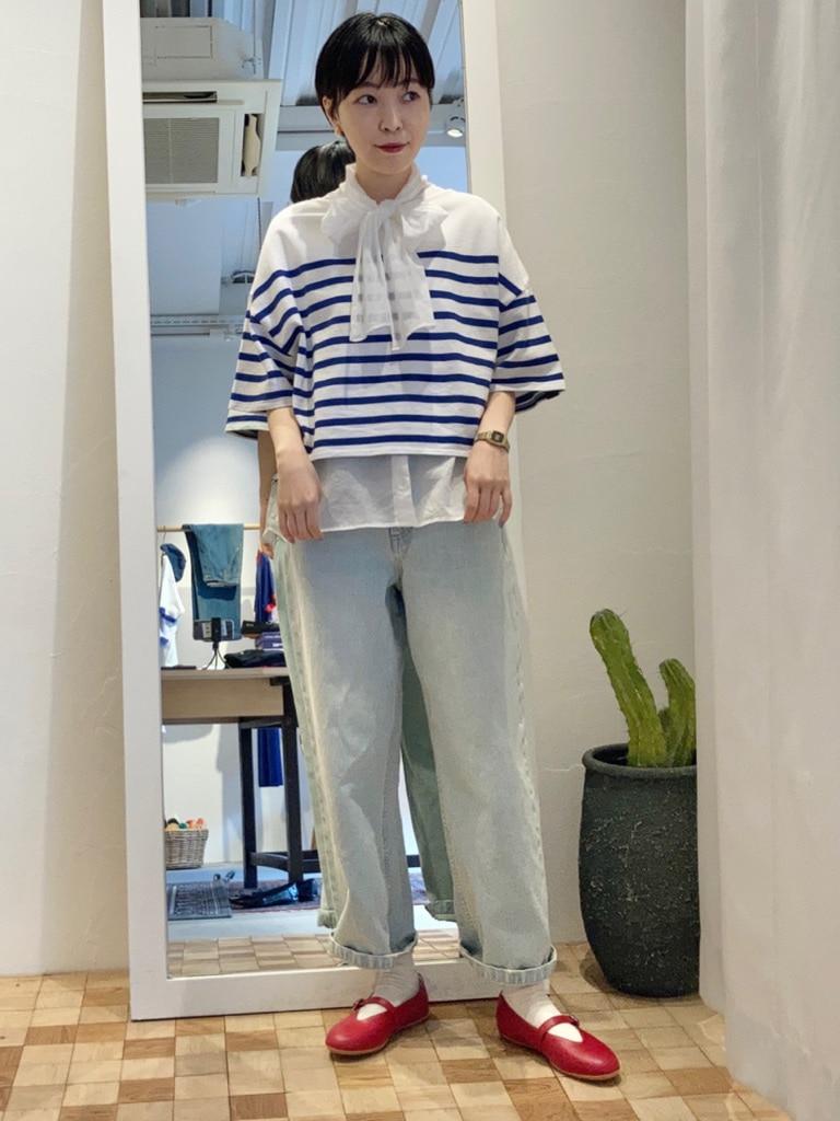 Dot and Stripes CHILD WOMAN 名古屋栄路面 身長:161cm 2021.06.04