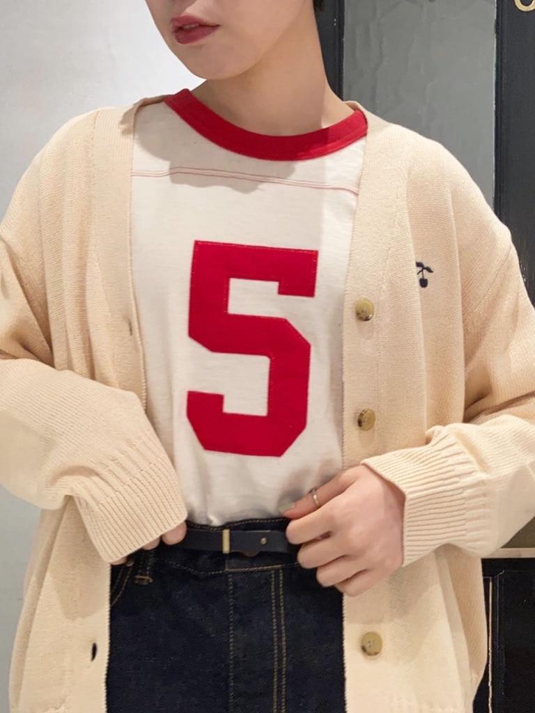 Dot and Stripes CHILD WOMAN 名古屋栄路面 身長:160cm 2021.02.08