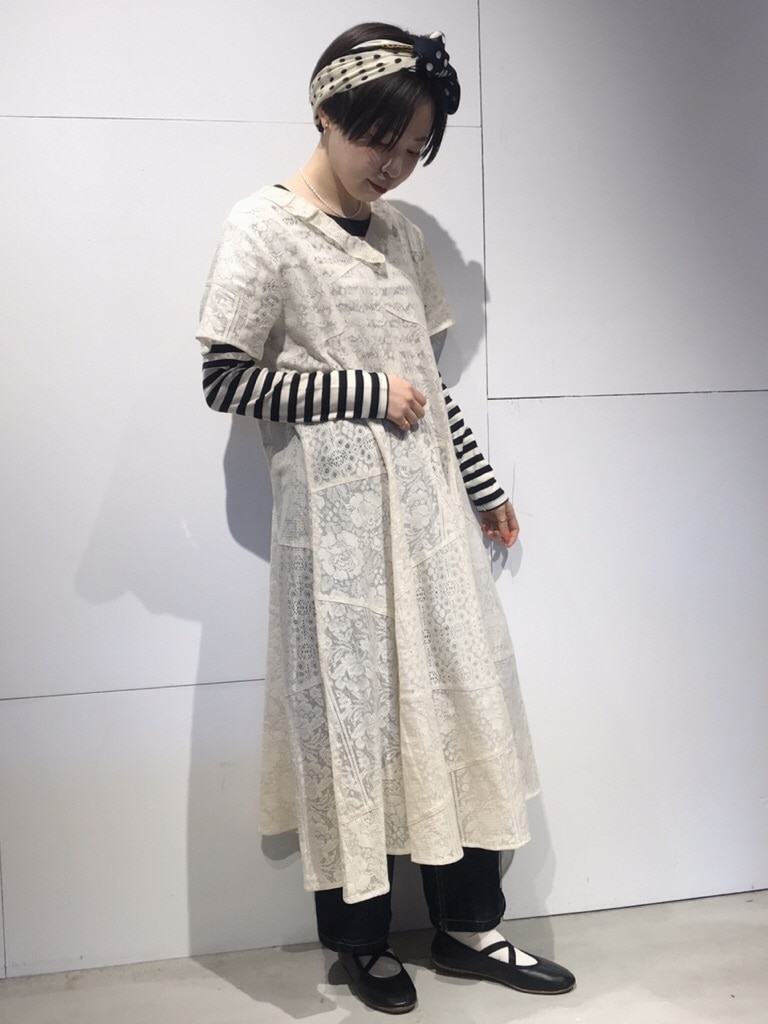 Dot and Stripes CHILD WOMAN 名古屋栄路面 身長:160cm 2020.03.24