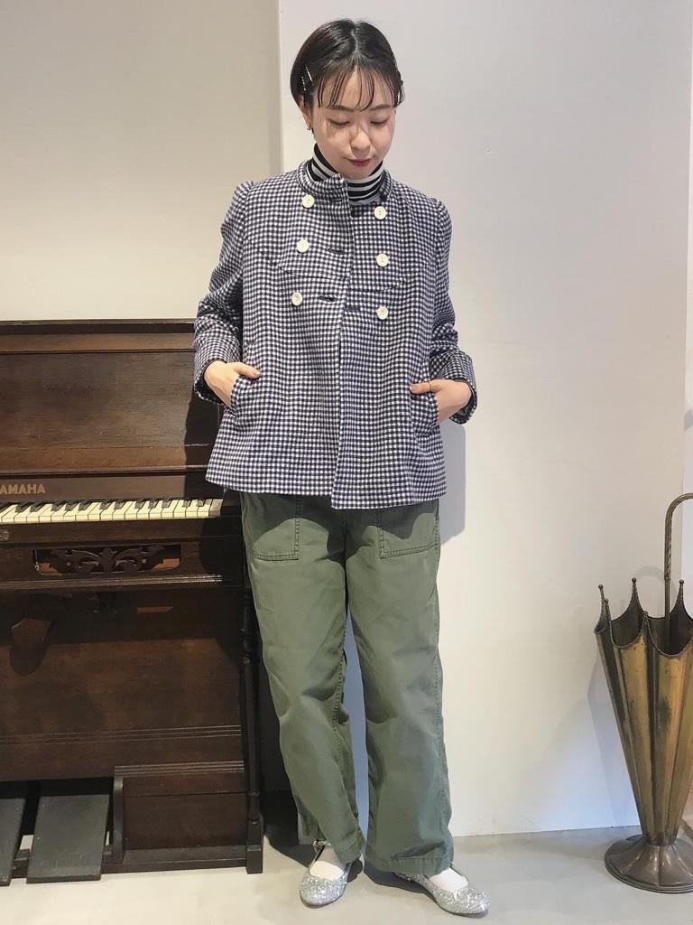 Dot and Stripes CHILD WOMAN 名古屋栄路面 身長:160cm 2020.11.30