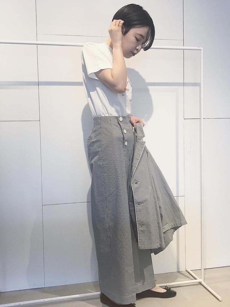 Dot and Stripes CHILD WOMAN 名古屋栄路面 身長:160cm 2020.06.11