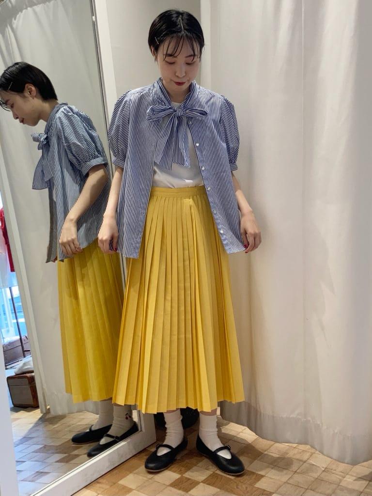Dot and Stripes CHILD WOMAN 名古屋栄路面 身長:161cm 2021.07.07
