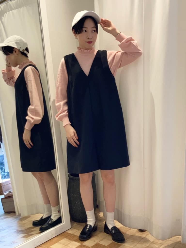 Dot and Stripes CHILD WOMAN 名古屋栄路面 身長:161cm 2021.09.08