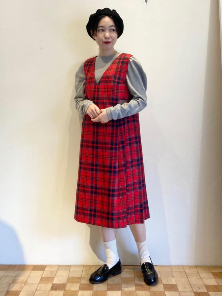 Dot and Stripes CHILD WOMAN 名古屋栄路面 身長:161cm 2021.10.11