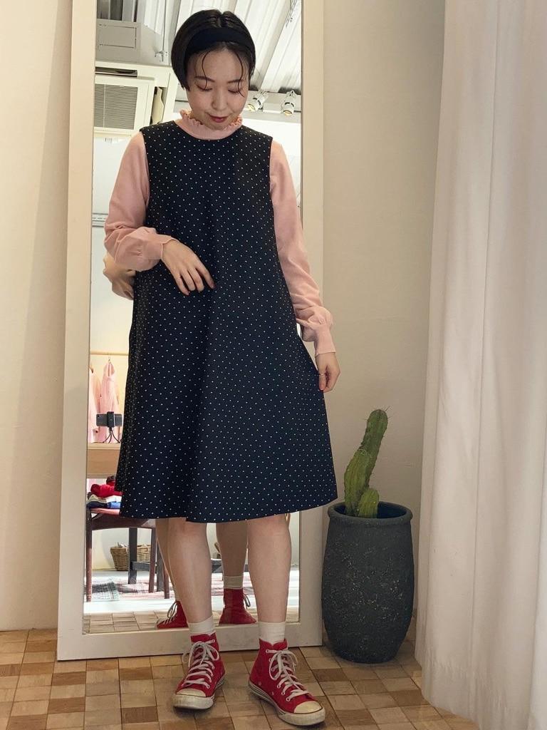 Dot and Stripes CHILD WOMAN 名古屋栄路面 身長:160cm 2021.02.07