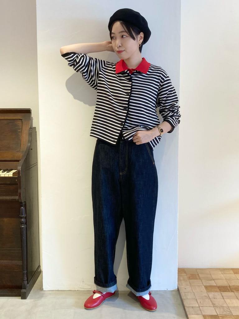 Dot and Stripes CHILD WOMAN 名古屋栄路面 身長:161cm 2021.08.24