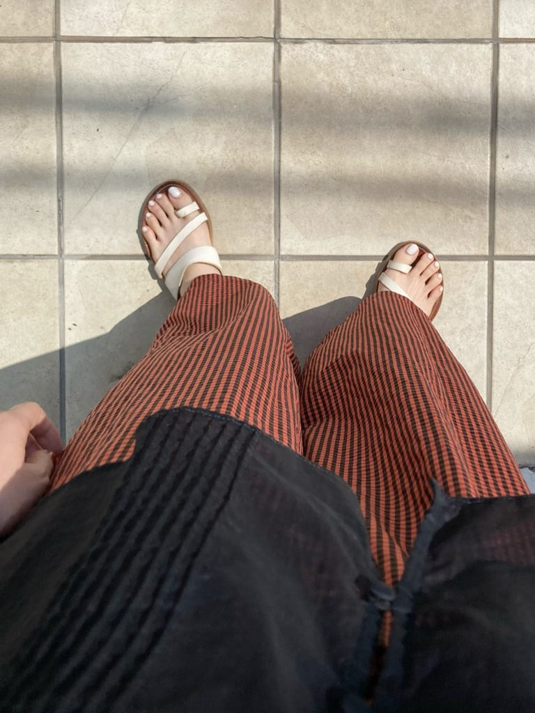 Dot and Stripes CHILD WOMAN 名古屋栄路面 身長:161cm 2021.07.29
