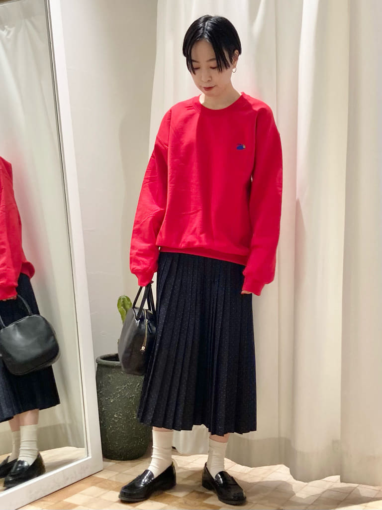 Dot and Stripes CHILD WOMAN 名古屋栄路面 身長:161cm 2021.09.14