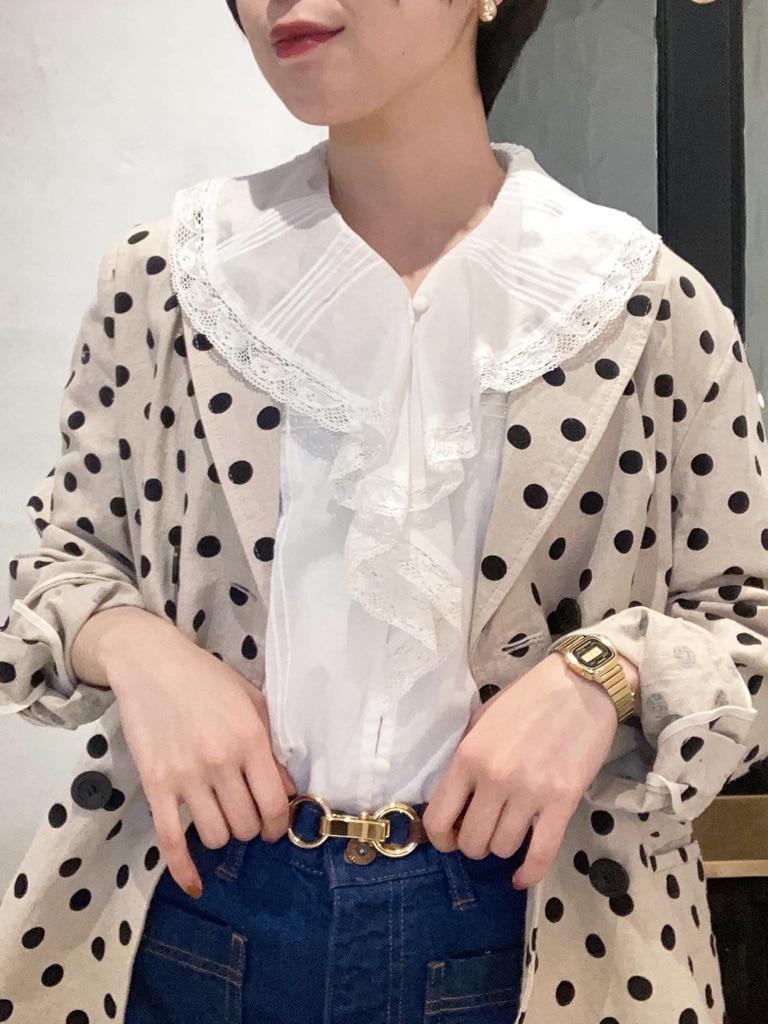 Dot and Stripes CHILD WOMAN 名古屋栄路面 身長:160cm 2021.05.14