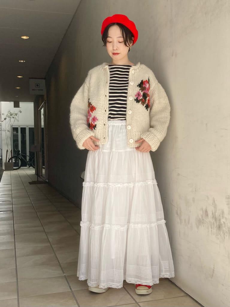 Dot and Stripes CHILD WOMAN 名古屋栄路面 身長:161cm 2021.10.08