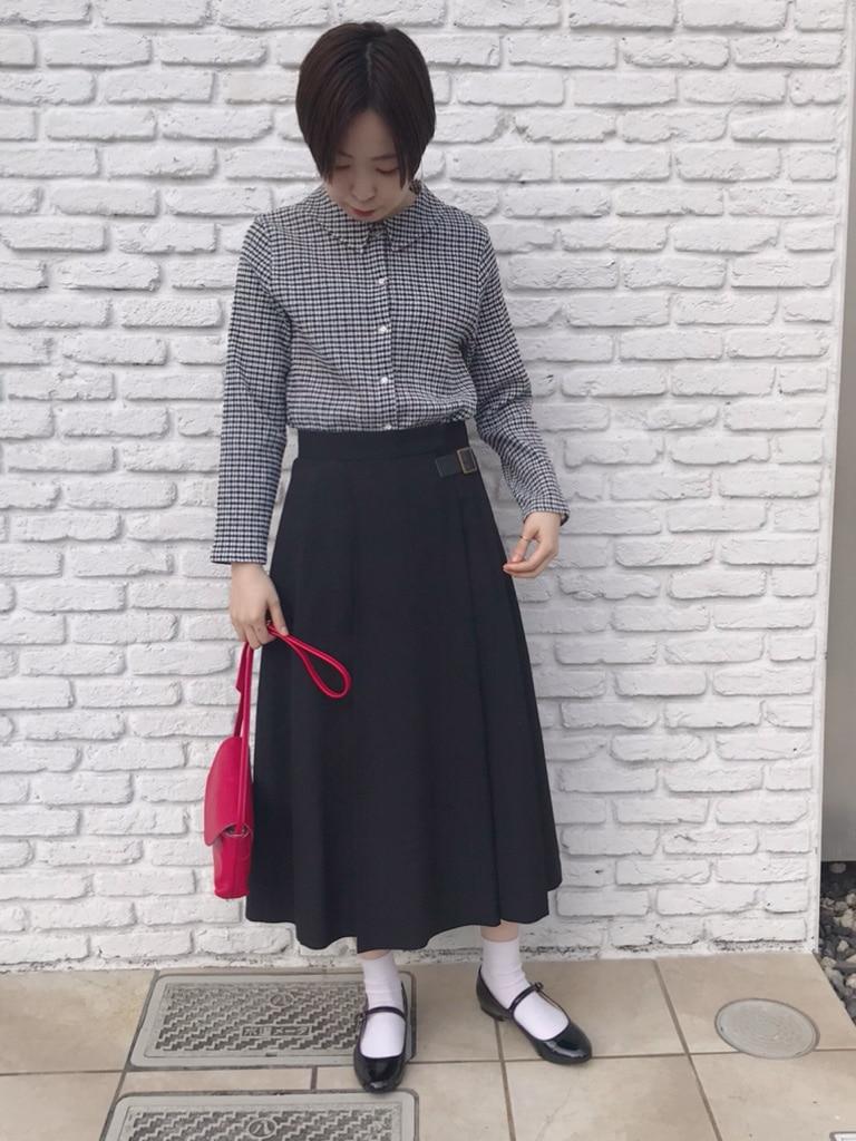 Dot and Stripes CHILD WOMAN 名古屋栄路面 身長:160cm 2020.04.29
