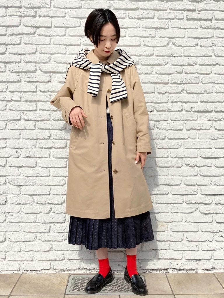 Dot and Stripes CHILD WOMAN 名古屋栄路面 身長:160cm 2021.03.10