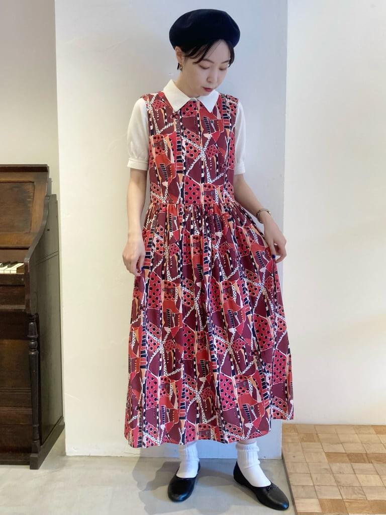 Dot and Stripes CHILD WOMAN 名古屋栄路面 身長:161cm 2021.08.06