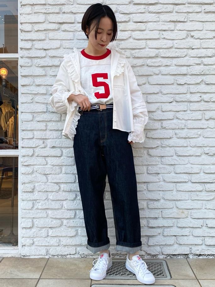 Dot and Stripes CHILD WOMAN 名古屋栄路面 身長:160cm 2021.05.06