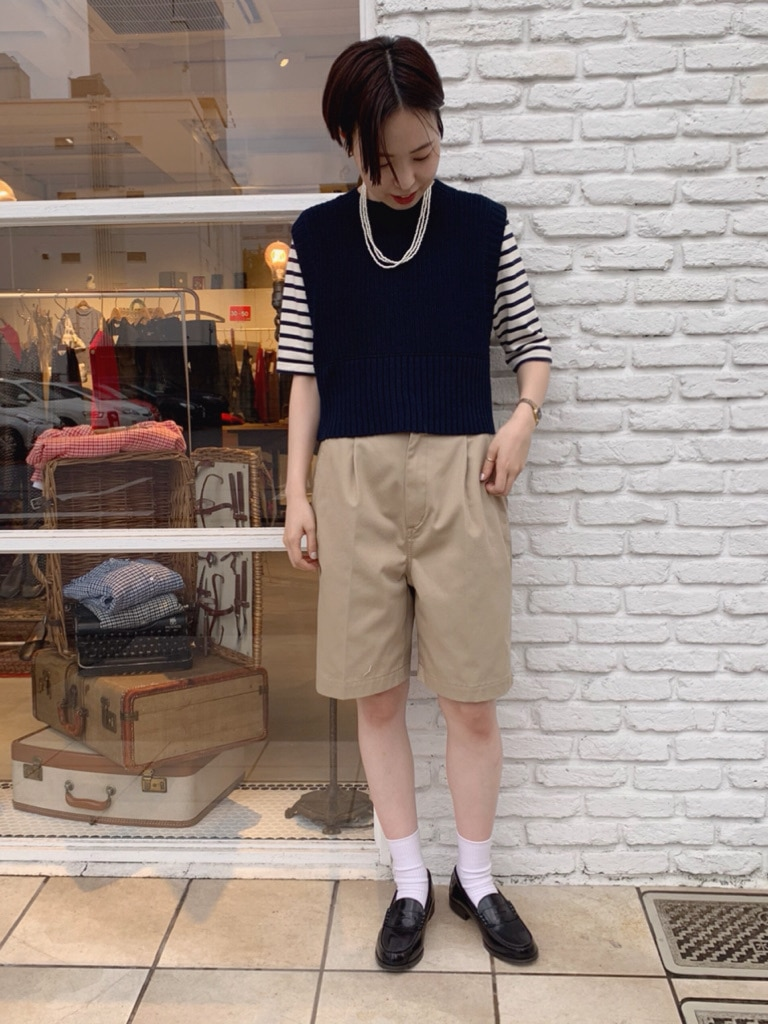 Dot and Stripes CHILD WOMAN 名古屋栄路面 身長:160cm 2020.08.14