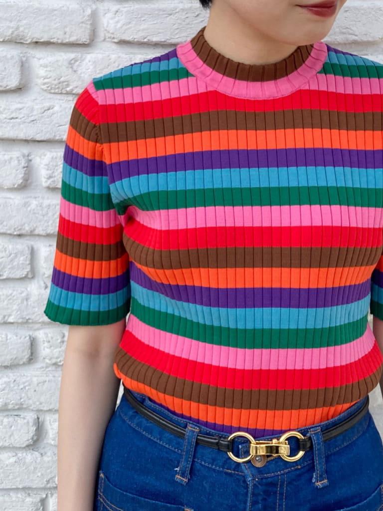 Dot and Stripes CHILD WOMAN 名古屋栄路面 身長:161cm 2021.07.08