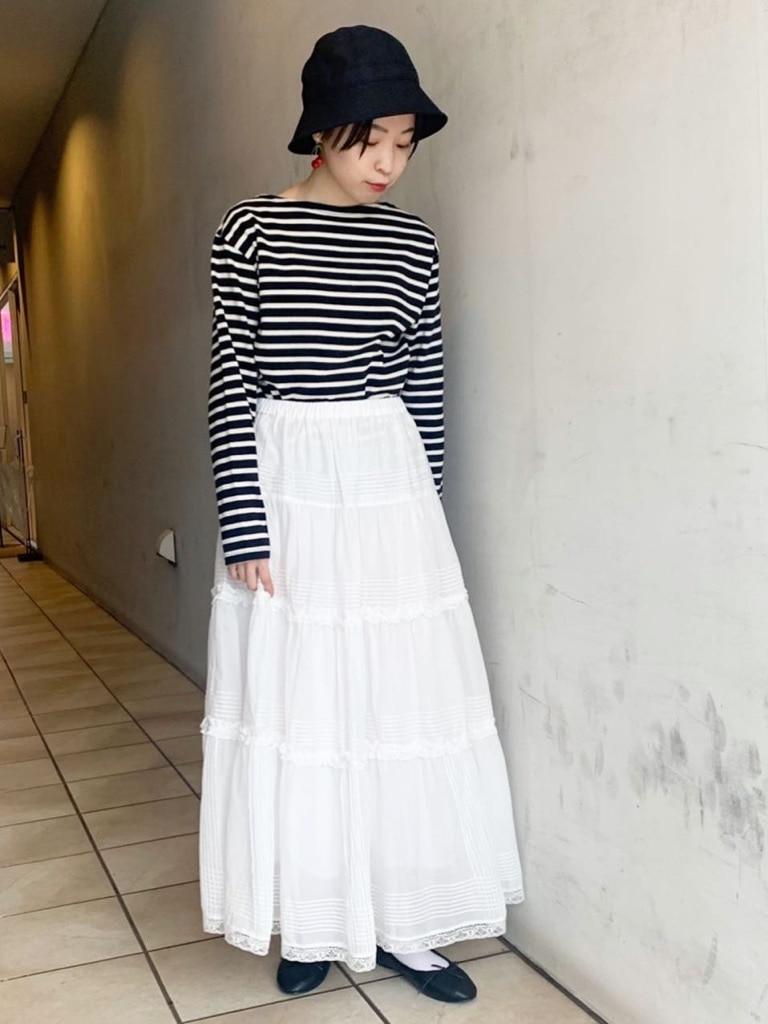 Dot and Stripes CHILD WOMAN 名古屋栄路面 身長:160cm 2021.02.14