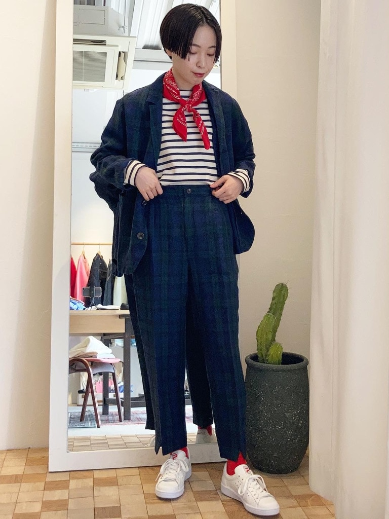 Dot and Stripes CHILD WOMAN 名古屋栄路面 身長:160cm 2021.03.19