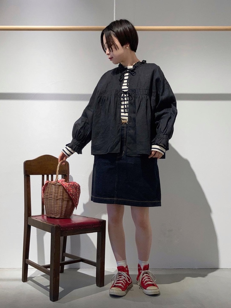 Dot and Stripes CHILD WOMAN 名古屋栄路面 身長:160cm 2021.04.14