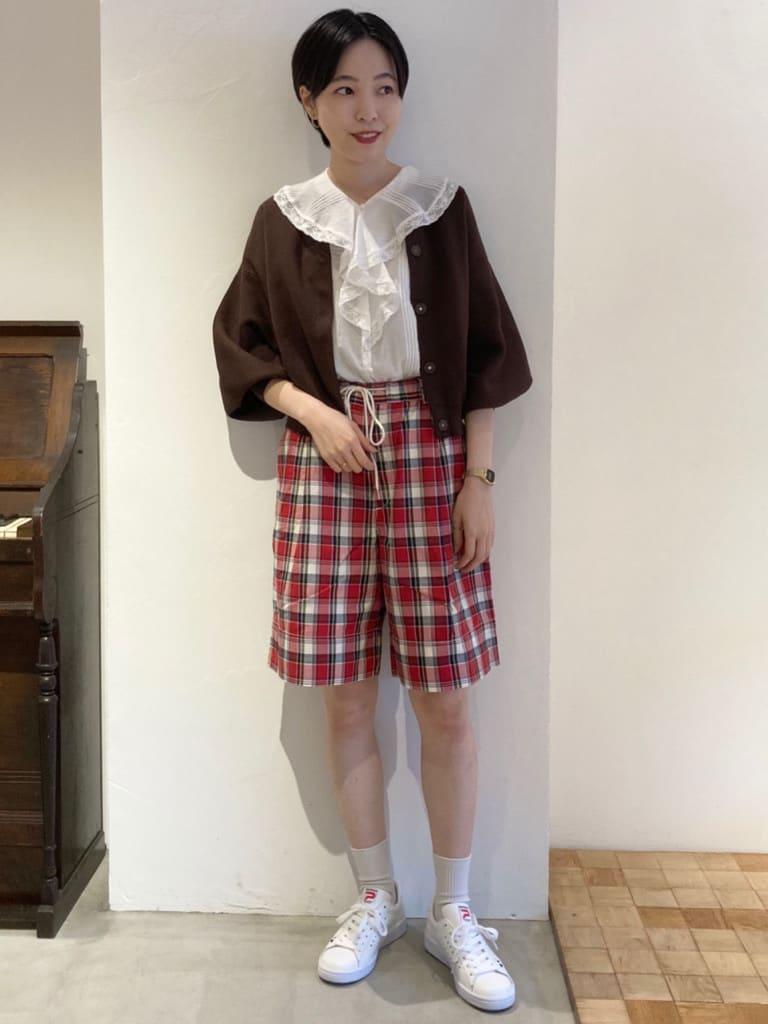 Dot and Stripes CHILD WOMAN 名古屋栄路面 身長:161cm 2021.08.23