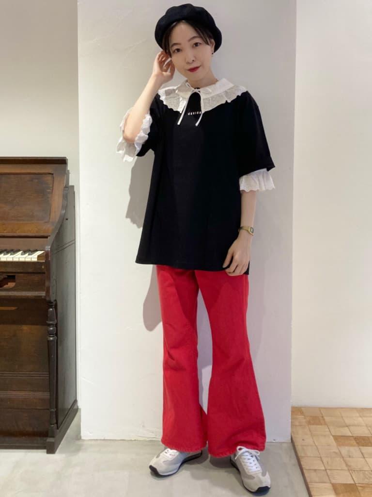 Dot and Stripes CHILD WOMAN 名古屋栄路面 身長:161cm 2021.08.13