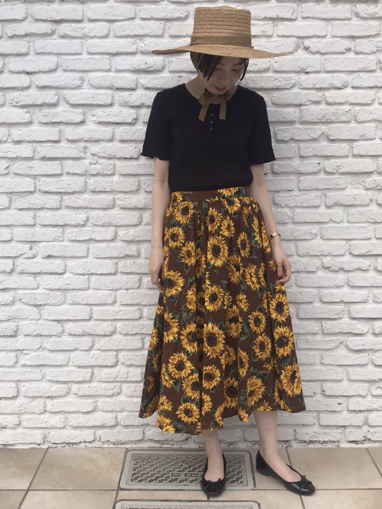 Dot and Stripes CHILD WOMAN 名古屋栄路面 身長:160cm 2020.05.30