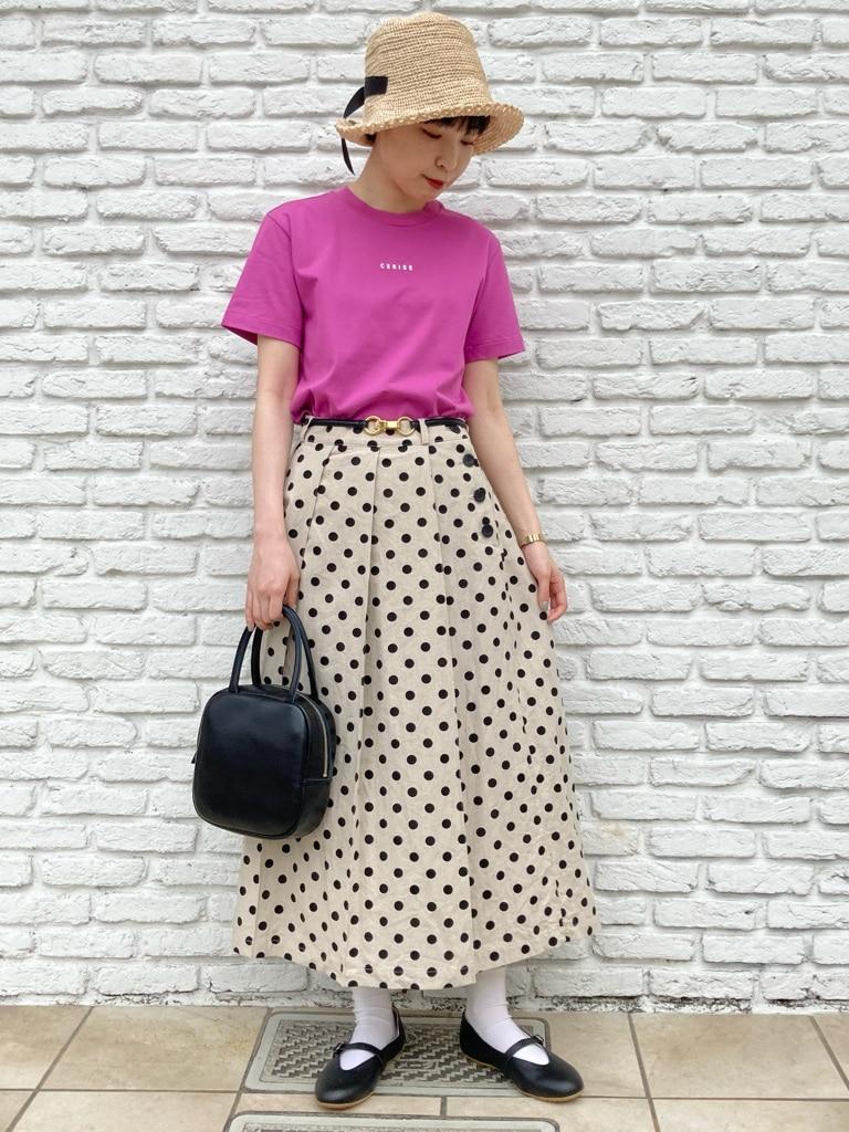 Dot and Stripes CHILD WOMAN 名古屋栄路面 身長:161cm 2021.05.27