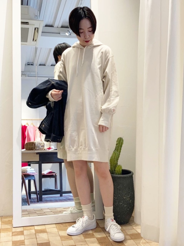 Dot and Stripes CHILD WOMAN 名古屋栄路面 身長:160cm 2021.03.16