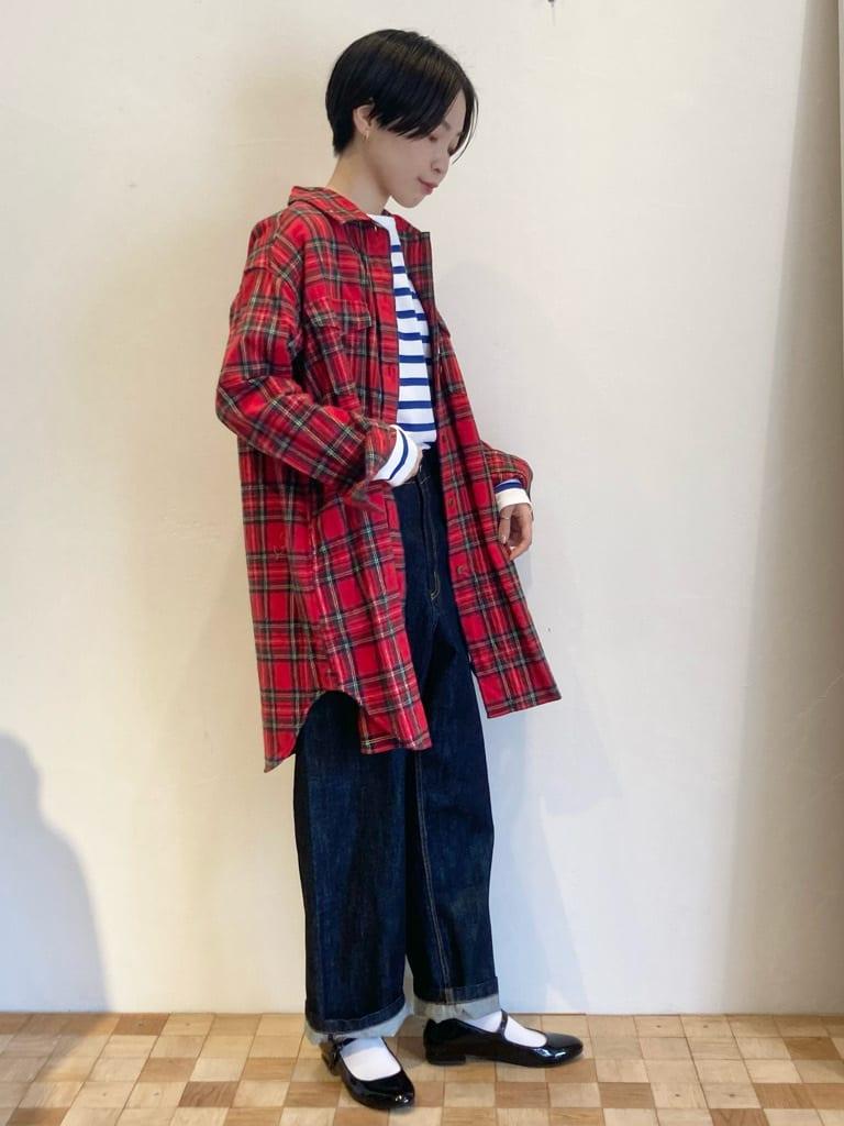 Dot and Stripes CHILD WOMAN 名古屋栄路面 身長:161cm 2021.09.16