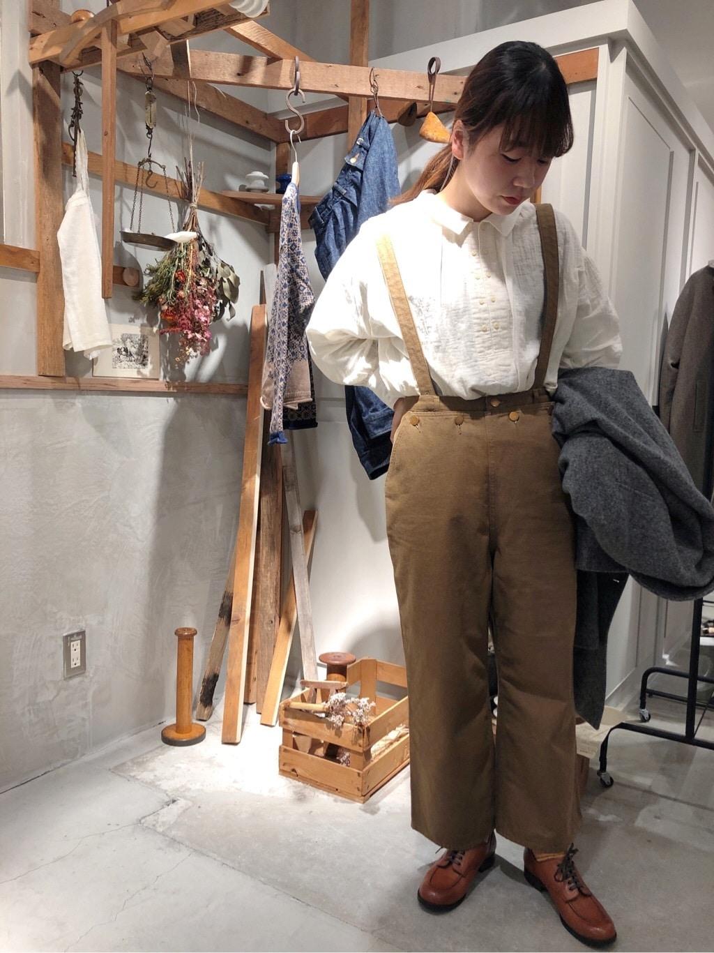 - PAR ICI FLAT AMB 名古屋栄路面 身長:163cm 2020.10.20