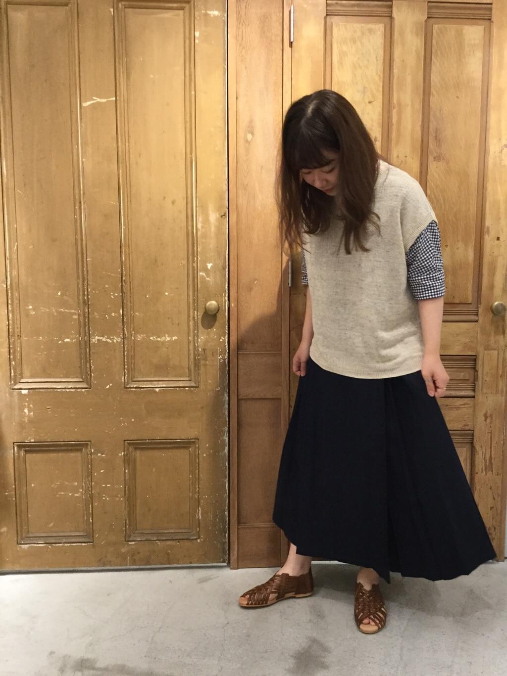 AMB SHOP PAR ICI FLAT AMB 名古屋栄路面 身長:163cm 2020.06.30