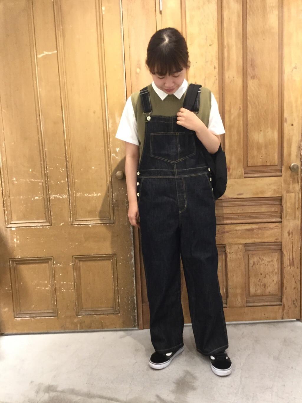 AMB SHOP PAR ICI FLAT AMB 名古屋栄路面 身長:163cm 2020.07.28