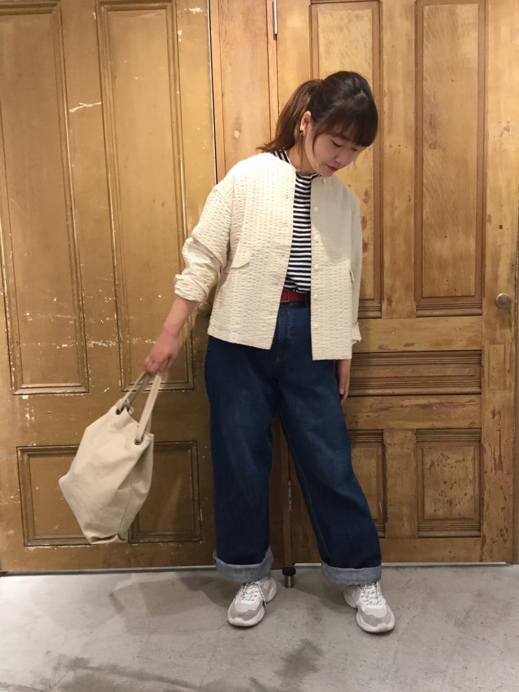 - PAR ICI FLAT AMB 名古屋栄路面 身長:163cm 2020.08.07