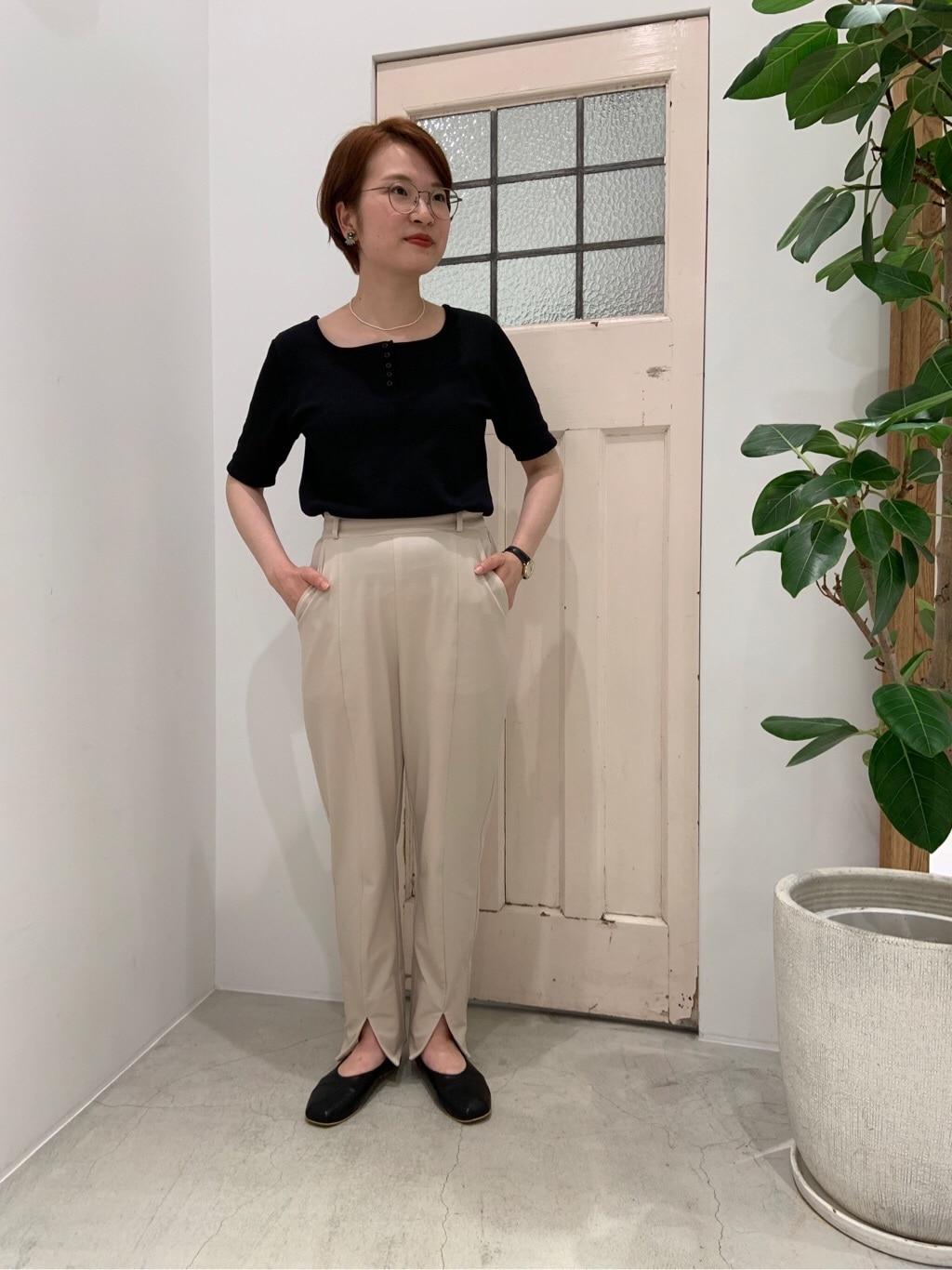 Dot and Stripes CHILD WOMAN ペリエ千葉 身長:160cm 2019.07.25