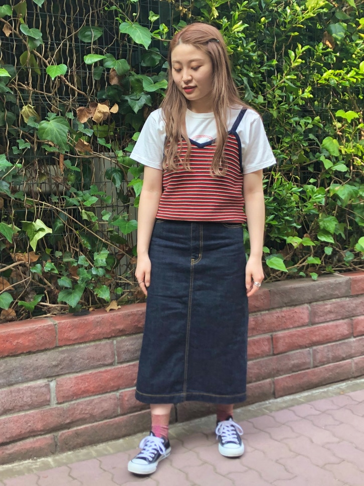 Dot and Stripes CHILD WOMAN ラフォーレ原宿 身長:153cm 2020.06.20