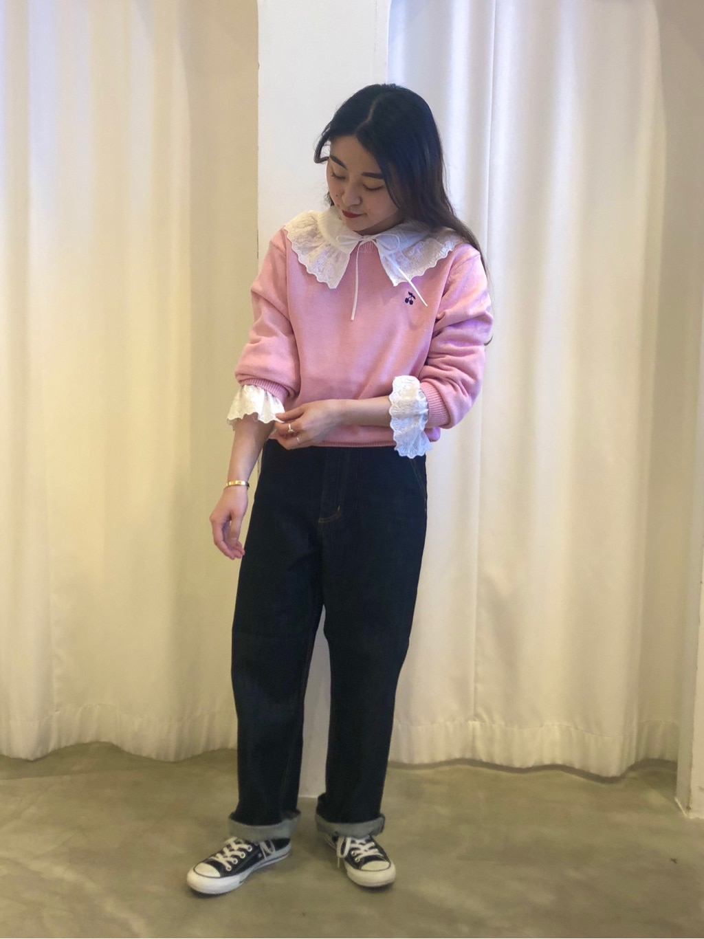 Dot and Stripes CHILD WOMAN ラフォーレ原宿 身長:153cm 2021.02.06