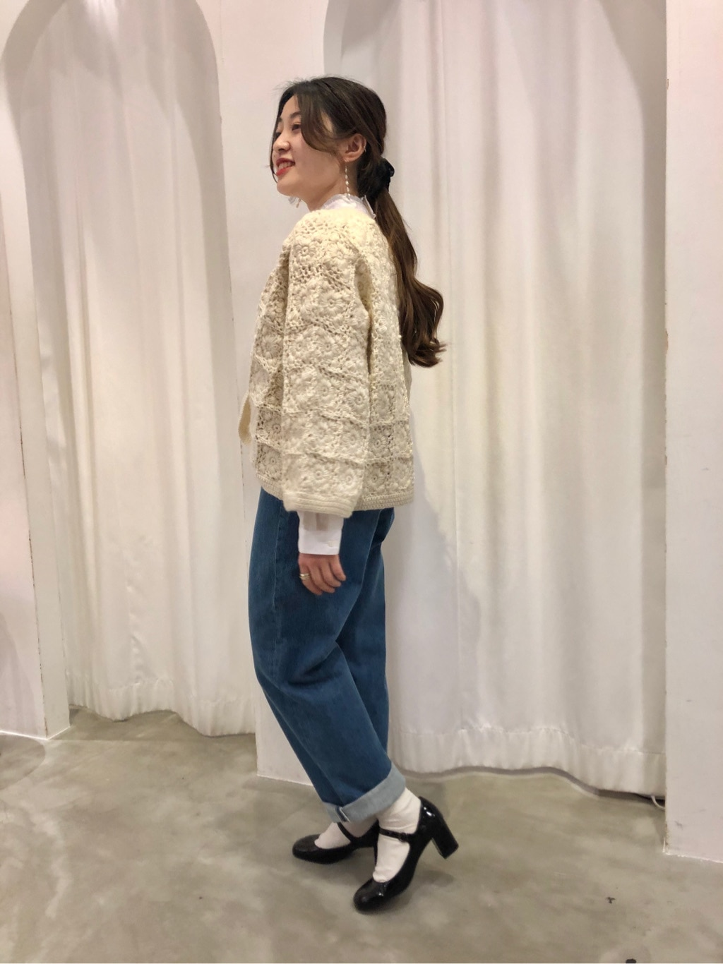 Dot and Stripes CHILD WOMAN ラフォーレ原宿 身長:153cm 2020.11.25