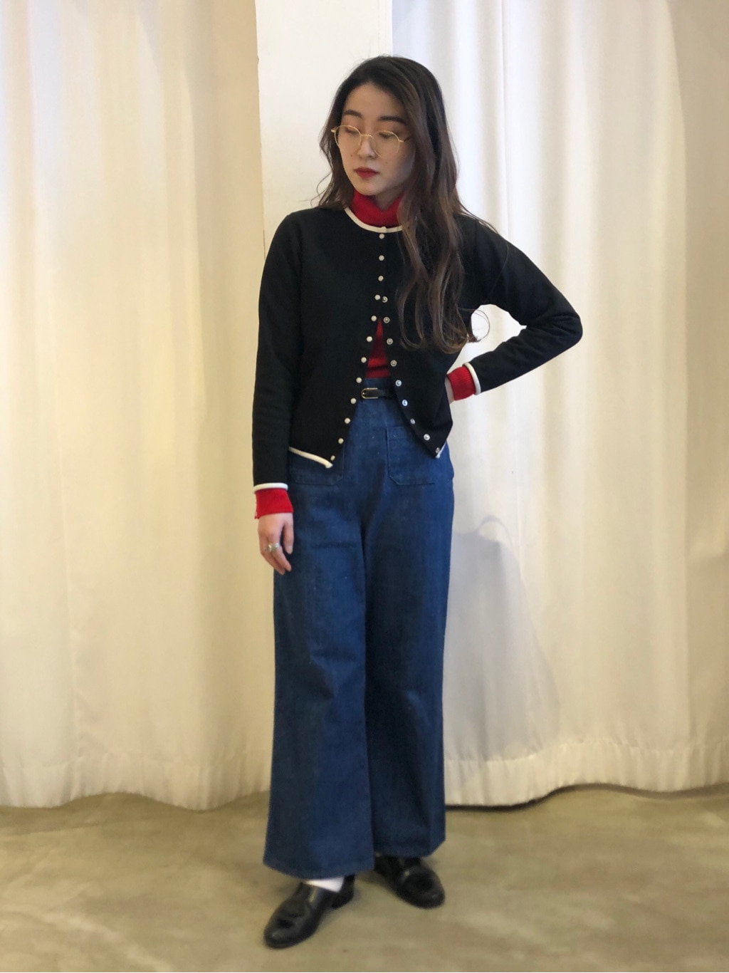 Dot and Stripes CHILD WOMAN ラフォーレ原宿 身長:153cm 2020.12.29